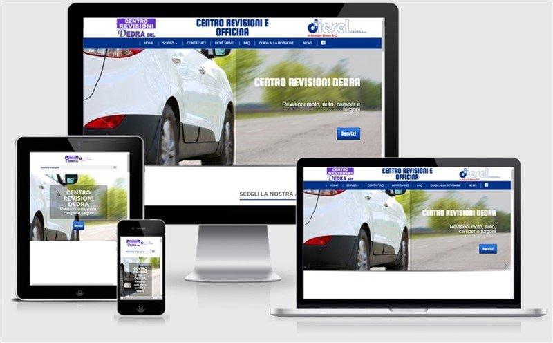 sito web centro revisioni auto e officina viadana mantova