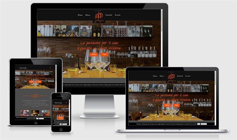 sito web responsive mantova ristorante