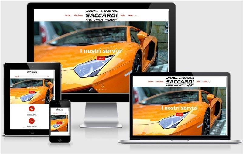 sito web officina auto saccardi mantova motori parma