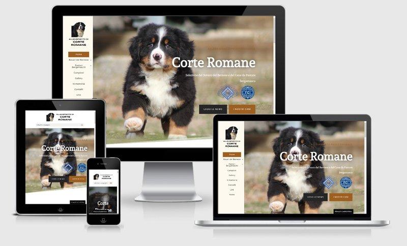 sito web allevamento cani corte romane borgo virgilio mantova