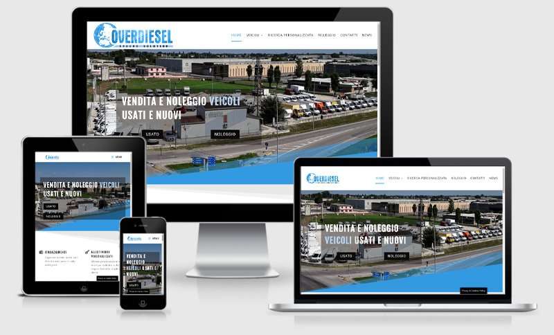 sito web overdiesel rivenditore vendita noleggio auto veicoli industriali usati e nuovi suzzara mantova
