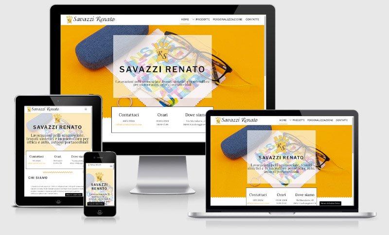 sito web savazzi renato ottica occhiali azienda produttrice Mantova Casalmaggiore Cremona