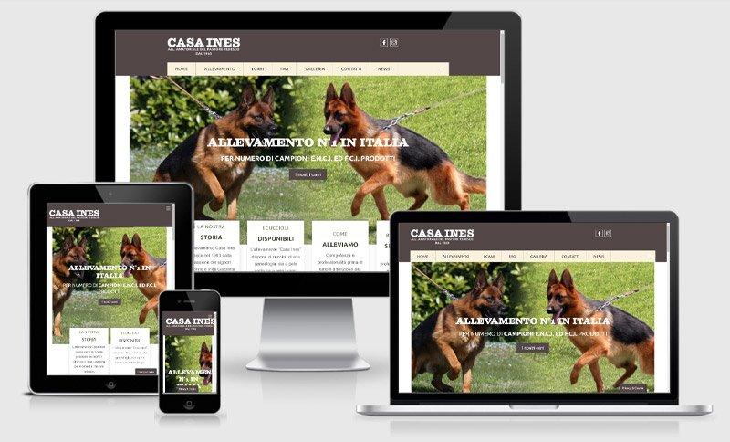 sito web casa ines allevamento cani mantova marcaria curtatone