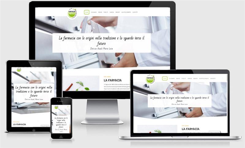 sito web one page farmacia medole mantova